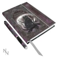 Luna Lakota Embossed Witches Spell Book Journal With Pen Notebook Standard New