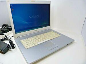 SONY VAIO VGN-N312 PCG-7Y1M Laptop 2GB RAM 120GB HDD WINDOWS 7 Working w issues