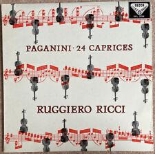 Decca SXL 2194 Ricci Paganini 24 Caprices