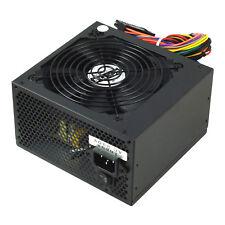 Black 12CM Silent Fan PC Power Supply ATX Computer PSU 500 Watt SATA 24 Pin Fans