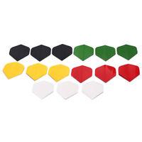 15pcs dart flights nice darts flight mixed color for outdoor darts wing tail  TO