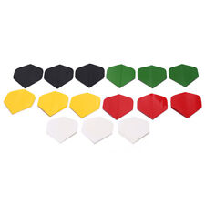 15pcs dart flights nice darts flight mixed color for outdoor darts wing tail XC