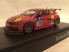 VW Scirocco III GT24-CNG rot #115 1:43 Norev/VW neu & OVP