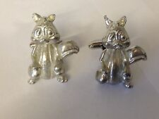 Cute Squirrel Ft66 Cufflinks Made From English Modern Pewter