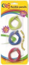 3/6/9/12/15 pcs Soft Flexible Bendy Pencils 30cm Magic Bend Kids Fun Equipment