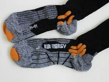 X Socks Run Energizer Long Mens Underwear Sports - Black Grey Orange