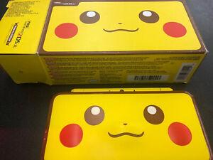 New Nintendo 2DS XL Pokemon Pikachu Edition Console 4GB Stylus