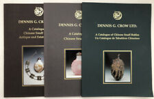 Three Exhibition Catalogues of Chinese Snuff Bottles