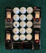 15 Titleist 2013 Pro V1x Golf Balls ++ Player Inked ++ No Logo ++ Each Rated 90+