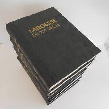 LAROUSSE DU XXe siècle art-déco 6 volumes Paul Augé France Paris 1928 1933