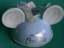 Disney Park Cinderella Limit Edition Mickey Ears Hat Christmas Ornament Rare New