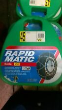 Due Catene da neve Maggi Rapid Matic V2 gr45  175/60-14 185/55-14
