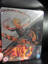 Ghost Rider Spirit of Vengeance Blu-Ray Steelbook Marvel Region B [UK] Sealed