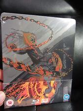 Ghost Rider Spirit of Vengeance Blu-Ray Steelbook Marvel Region B [UK] Sealed