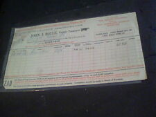 1919 City of Cleveland, Ohio County Treasurer receipt for Edna B. ef1