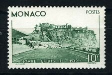 1939 MONACO N°184 TIMBRE POSTE STADE LOUIS II x