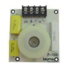 2 Beyma F100 High Pass Tweeter Passive Crossover 6.3kHz 18dB 8ohm w Attenuation