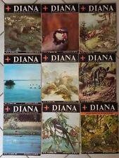 CACCIA Diana La rivista del cacciatore - lotto 9 riviste 1968