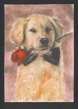 a01948 original ACEO dog cat mouse kitten ⭐AlbertStoneGallery⭐ by Koval