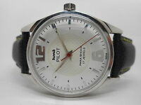 genuine hmt pilot hand winding men's steel vintage india made watch run order