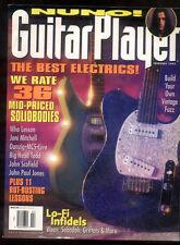 Guitar Player Magazine February 1995 Danzig MC5 John Paul Jones Who MBX49