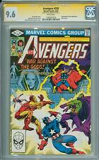 Avengers 220 CGC 9.6 SS Brett Breeding Thor and Drax appearance White Page