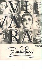 PUBLICITE 1976   JULIO PUCCI parfum VIVARA
