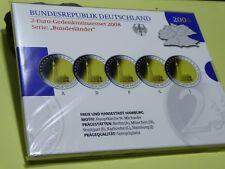 2 Euro Gedenkmünzenset 2008 Bundesländer in Spiegelglanz