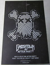 "Ghost Town  * 2 Sided Promo Poster * 11"" x 17"" Fueled By Ramen ghosttown"