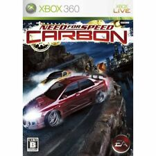 Used Xbox360 Need for Speed Carbon Japan Import