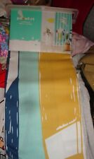 NEW Pillowfort SURFBOARD Shower Curtain 72 x 72 Poly Cotton Surfing