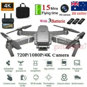 Drone x pro 2.4G Selfie WIFI FPV With 4K HD Camera Foldable RC Quadcopter RTF