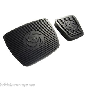 Triumph Stag automatic brake and throttle pedal rubber set (150883) (150881)