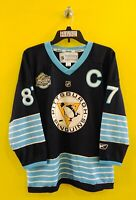 PITTSBURGH PENGUINS #87 SIDNEY CROSBY REEBOK NHL JERSEY YOUTH - L/XL