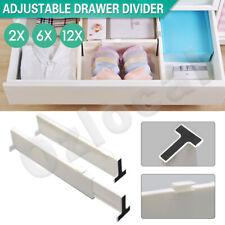 Plastic Retracting Adjustable Drawer Divider Storage Partition Board organizer