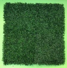 GreenLine 8 PC Artificial Premium Boxwood Mat Wall Hedge 20X20in Uv & Fire