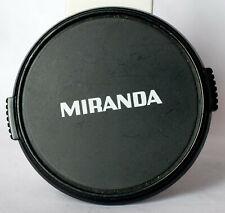 Miranda 52mm edge pinch lens cap.