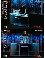 "TOYS BOX 1/6 Iron Man Workshop Scene Test Desk 2.0 For 12"" Science Model Figure"
