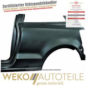 Panneau Latéral à gauche Pour VW Polo 2206035 DIEDERICHS