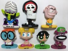 Cartoon Network TiTans Vinyl Figures Dee Dee Dexter Bobble Head Lot 7