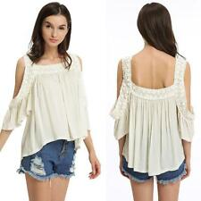 Blouse Ruffle Unbranded Casual Tops & Shirts for Women