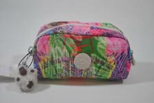 New With Tag Kipling Yvonn Cosmetics Pouch Bag - Island Hop