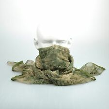 """A-TACS FG Camouflage Army Mesh Breathable Scarf Wrap Mask Shemagh Veil 74""""x35"""""""