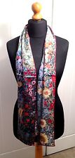 100% pure silk scarf (Klimt'garden with sunflowers')Gift wrapped