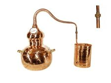 Alembic Copper Still With Thermometer, 20 Litres,Premium Model,Moonshine,Alcohol
