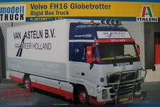 ITALERI VOLVO FH16 GLOBETROTTER RIGID BOX TRUCK No.3872  1:24 LIMITED EDITION