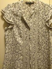 Beautiful Anne Klein Button Up Blouse Size Large In Perfect Condition