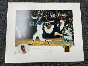 Hank Aaron 16x20 Photo Cooperstown Collection Braves