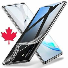 For Samsung Galaxy Note 10 / Plus Clear Case -Thin Soft TPU Silicone Back Cover