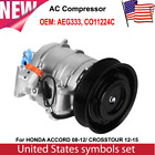 A/C AC Compressor AEG333 Fit for Honda Accord 2.4L 2008 2009 2010 2011 2012